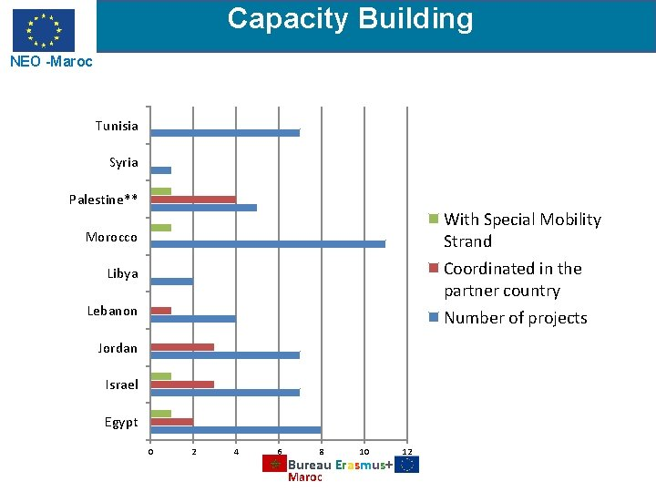 Capacity Building NEO -Maroc Tunisia Syria Palestine** With Special Mobility Strand Morocco Coordinated in