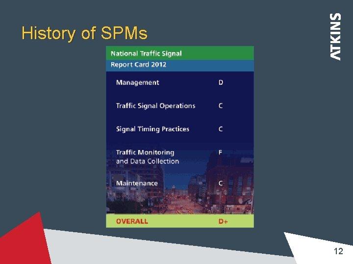History of SPMs 12