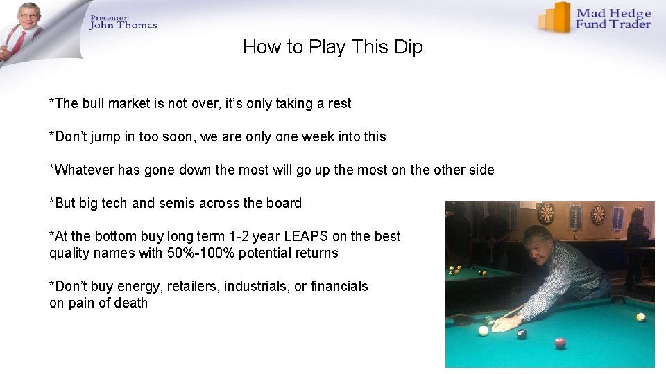 How to Play This Dip *The bull market is not over, it's only taking