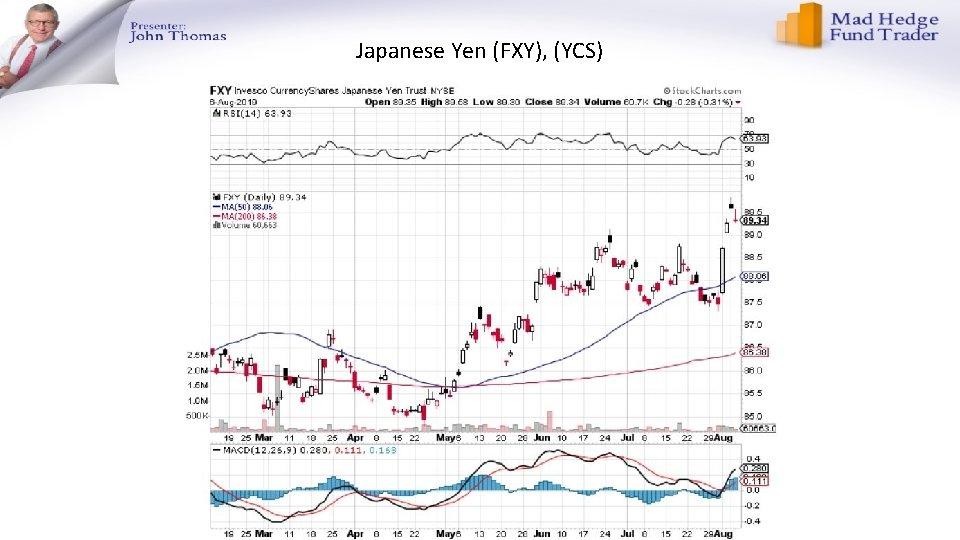 Japanese Yen (FXY), (YCS)