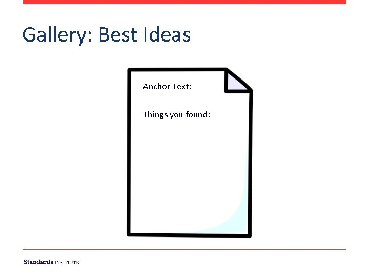 Gallery: Best Ideas Anchor Text: Things you found: