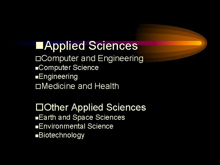 Applied Sciences Computer and Engineering Computer Science Engineering Medicine and Health Other Applied