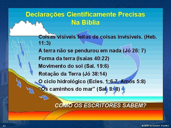 Declarações Cientificamente Precisas Na Bíblia Coisas visíveis feitas de coisas invisíveis. (Heb. 11: 3)