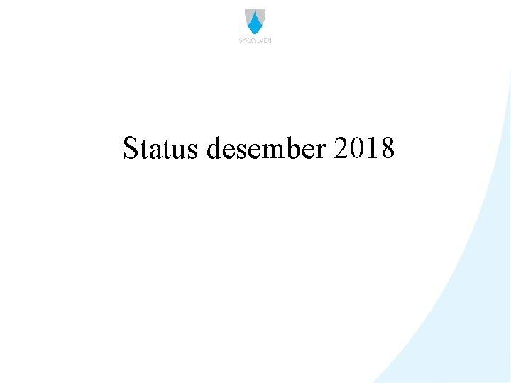 Status desember 2018