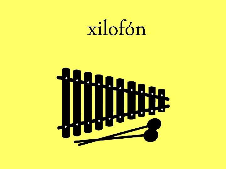 xilofón