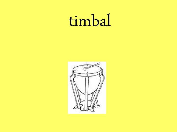 timbal