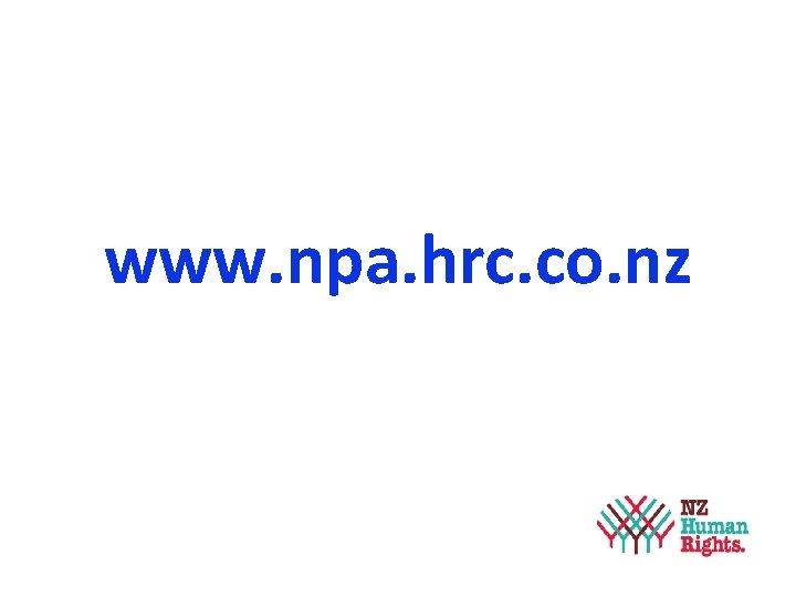 www. npa. hrc. co. nz