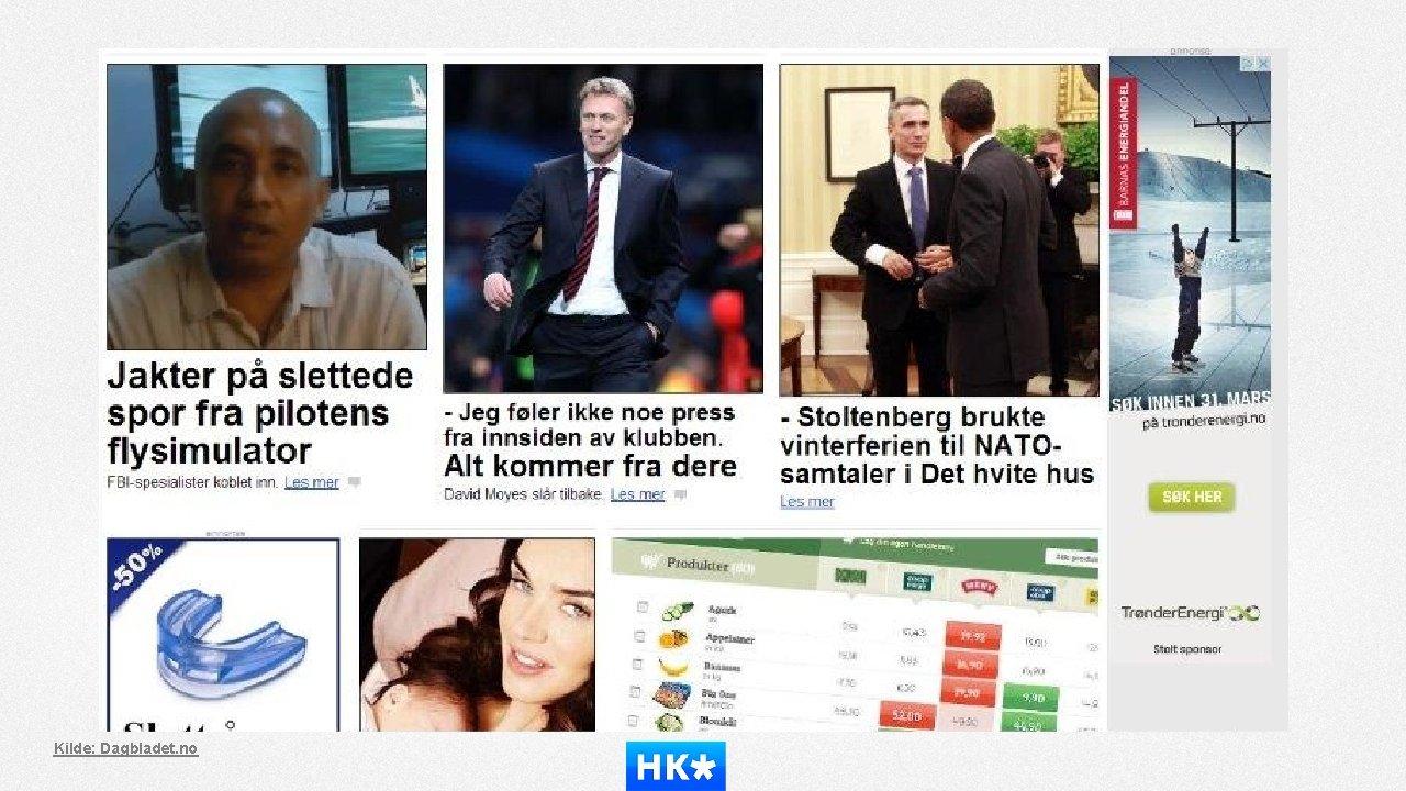 Kilde: Dagbladet. no