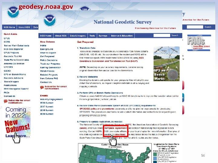 geodesy. noaa. gov 56