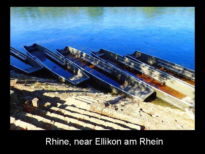 Rhine, near Ellikon am Rhein