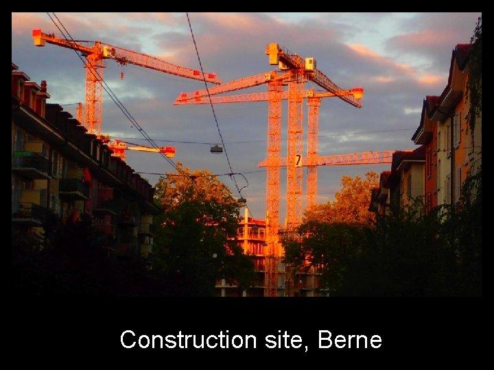 Construction site, Berne