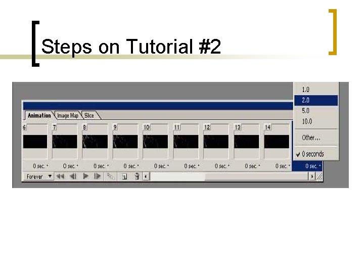 Steps on Tutorial #2