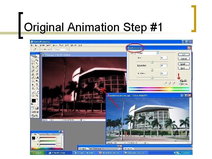 Original Animation Step #1