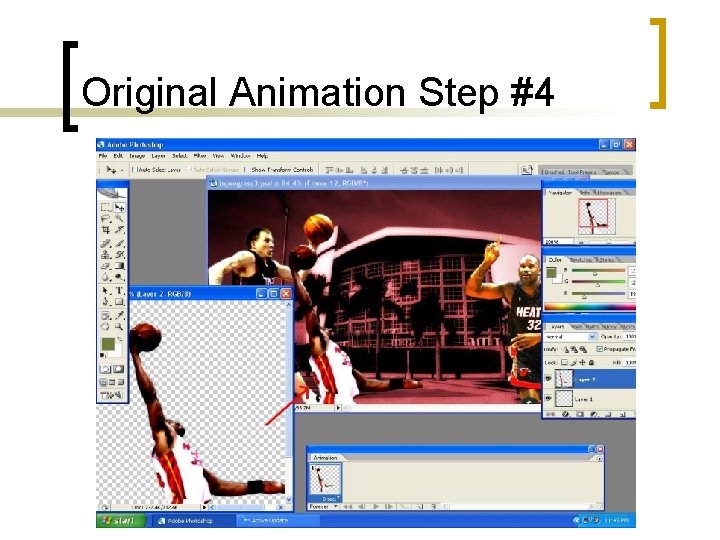 Original Animation Step #4