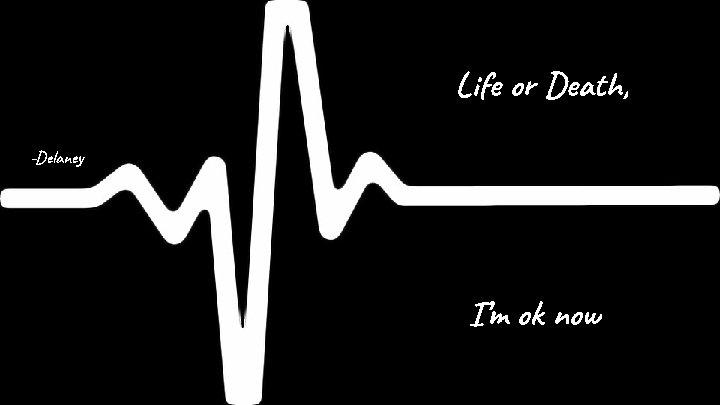 Life or Death, -Delaney I'm ok now