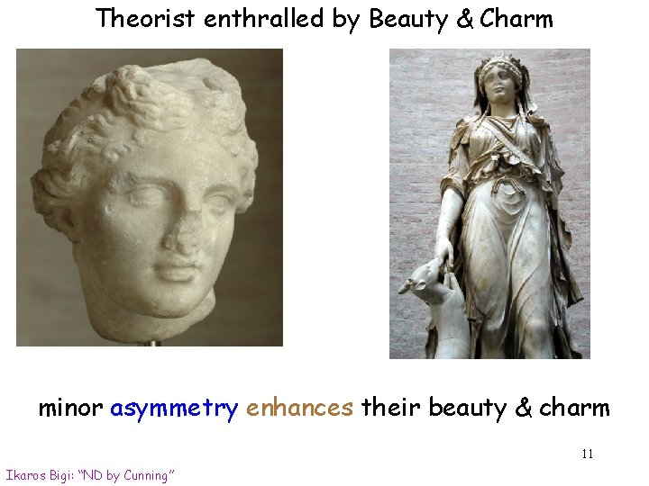 Theorist enthralled by Beauty & Charm minor asymmetry enhances their beauty & charm 11