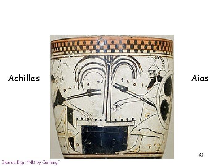 "Achilles Aias 62 Ikaros Bigi: ""ND by Cunning"""