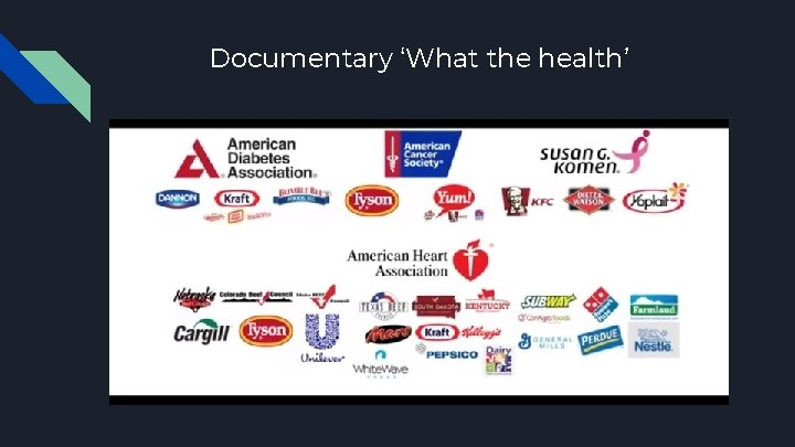 Documentary 'What the health'