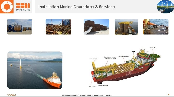 Installation Marine Operations & Services 3/12/2021 © SBM Offshore 2017. All rights reserved. www.