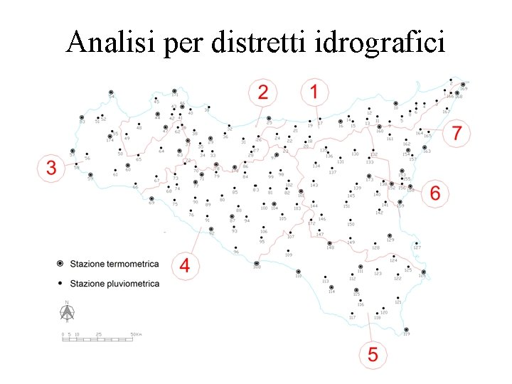 Analisi per distretti idrografici