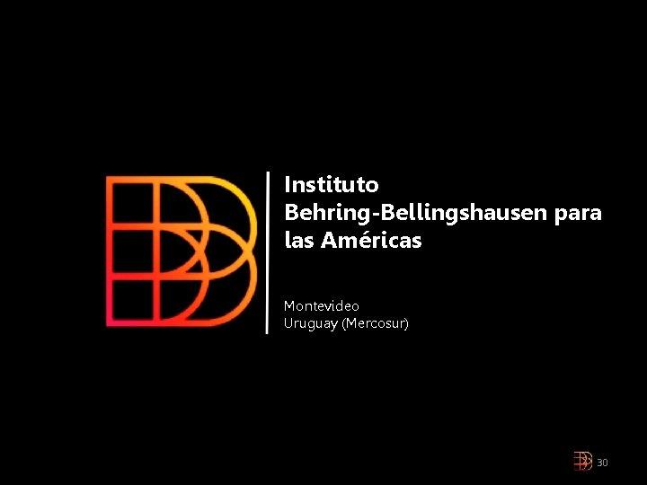Instituto Behring-Bellingshausen para las Américas Montevideo Uruguay (Mercosur) 30