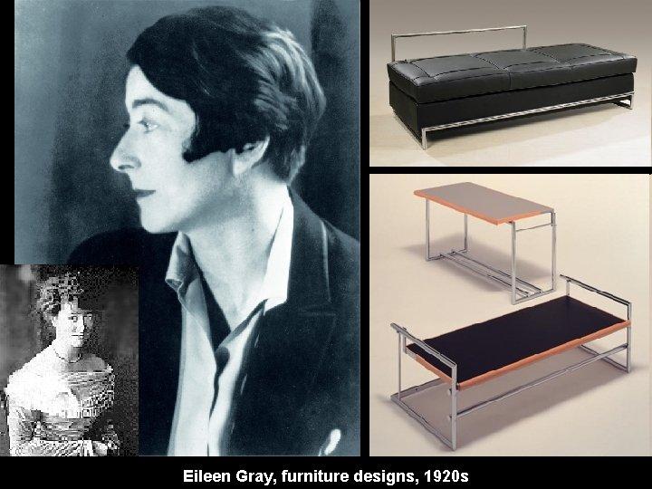 Eileen Gray, furniture designs, 1920 s