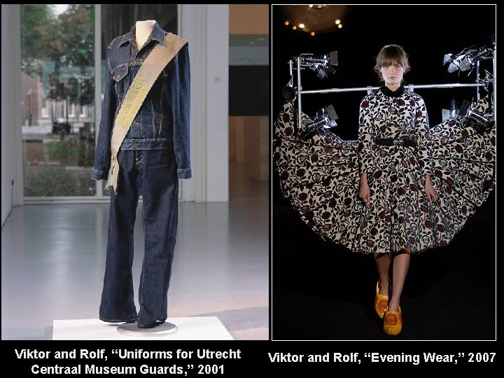 """Viktor and Rolf, """"Uniforms for Utrecht Centraal Museum Guards, """" 2001 Viktor and Rolf,"""