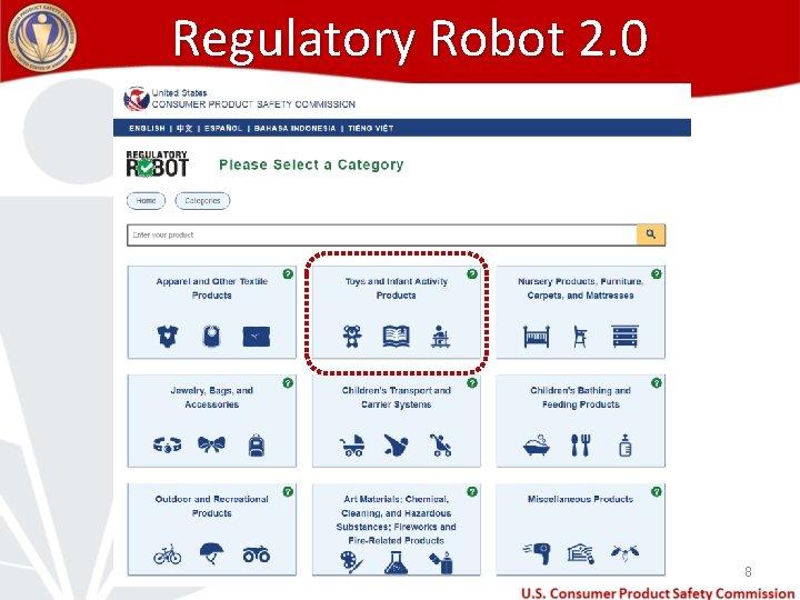 Regulatory Robot 2. 0 8