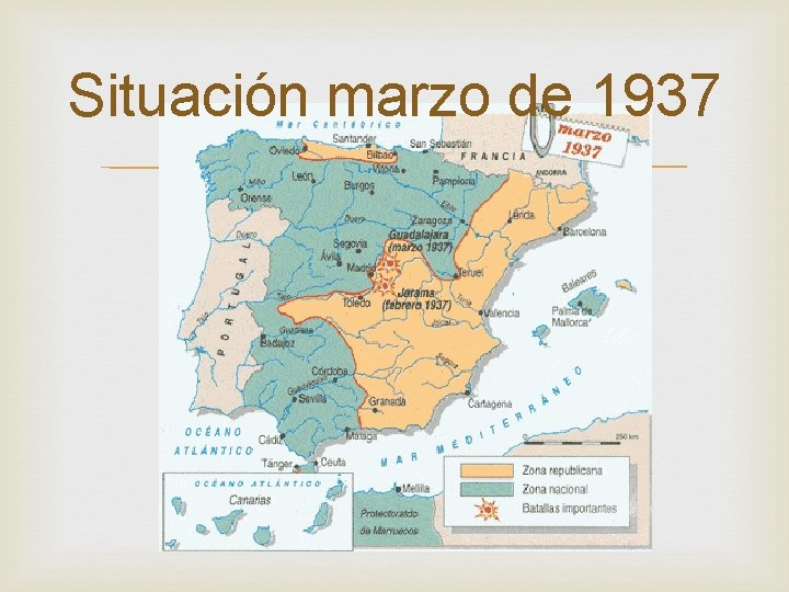 Situación marzo de 1937