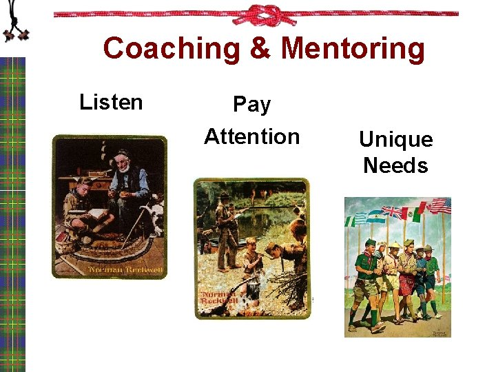 Coaching & Mentoring Listen Pay Attention Unique Needs