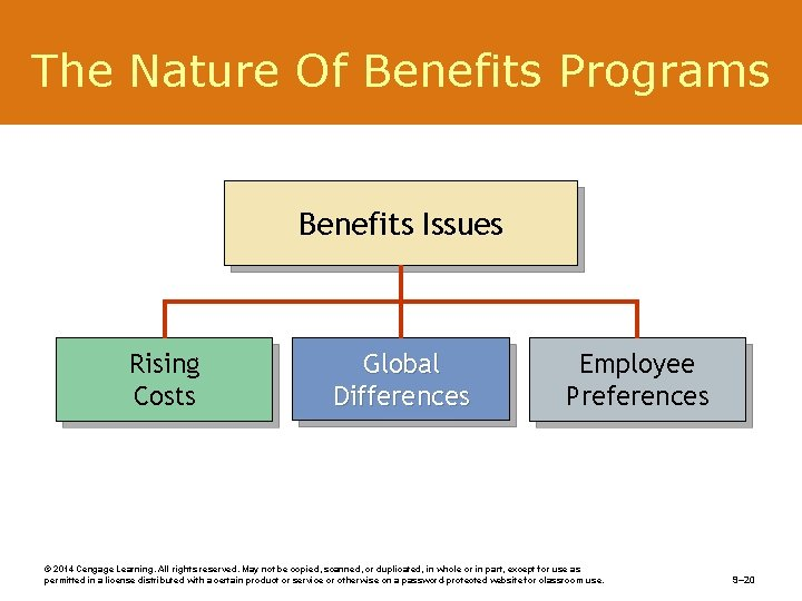 The Nature Of Benefits Programs Benefits Issues Rising Costs Global Differences Employee Preferences ©