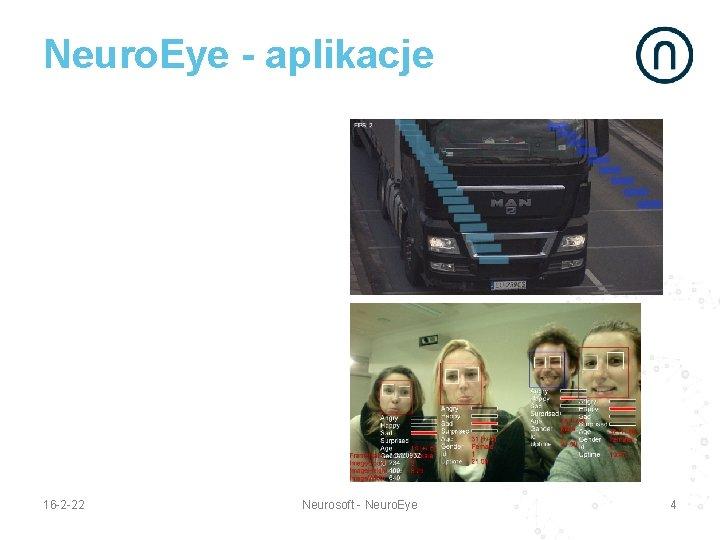 Neuro. Eye - aplikacje 16 -2 -22 Neurosoft - Neuro. Eye 4
