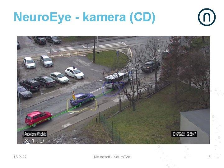 Neuro. Eye - kamera (CD) 16 -2 -22 Neurosoft - Neuro. Eye 6