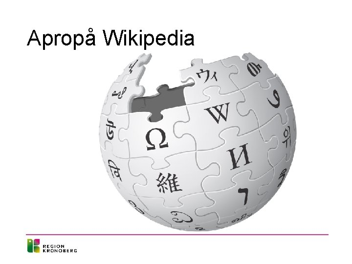 Apropå Wikipedia