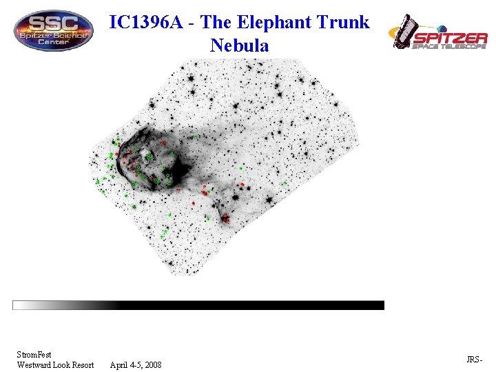 IC 1396 A - The Elephant Trunk Nebula Strom. Fest Westward Look Resort April