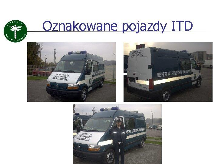 Oznakowane pojazdy ITD