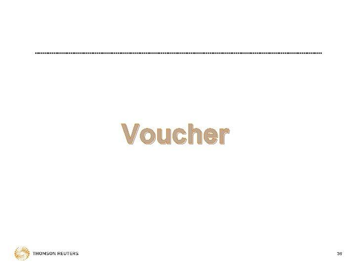 Voucher 36