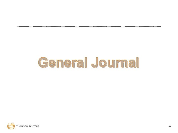 General Journal 49