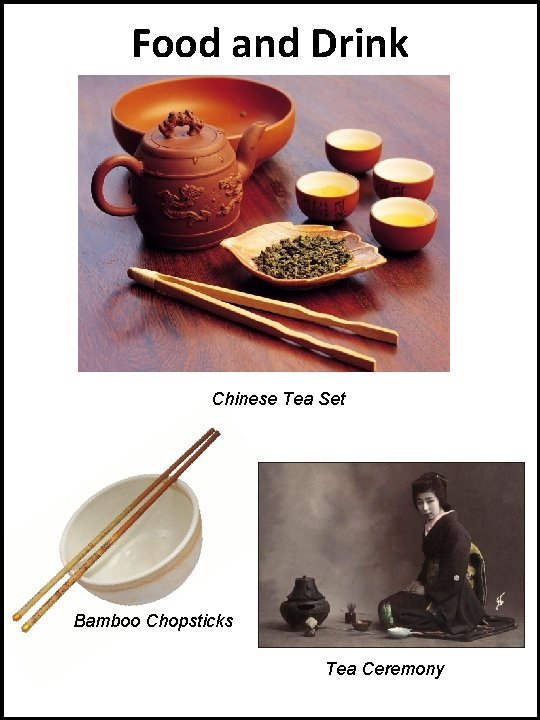 Food and Drink Chinese Tea Set Bamboo Chopsticks Tea Ceremony