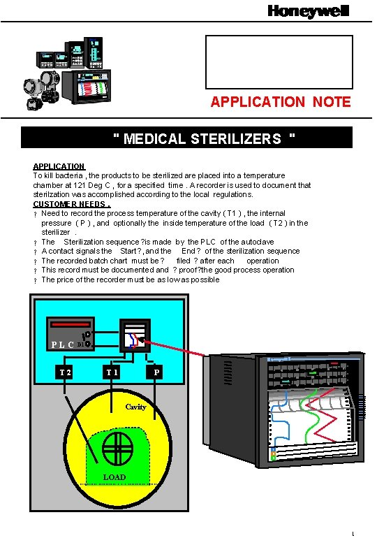 """APPLICATION NOTE """" MEDICAL STERILIZERS """" APPLICATION To kill bacteria , the products to"""