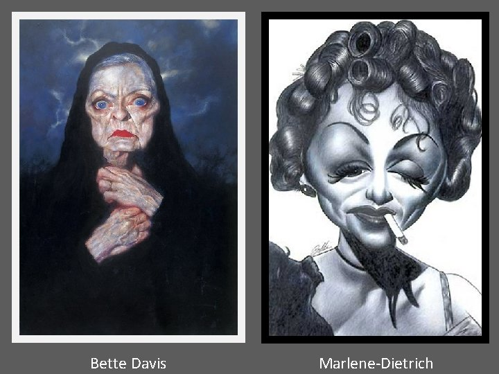 Bette Davis Marlene-Dietrich
