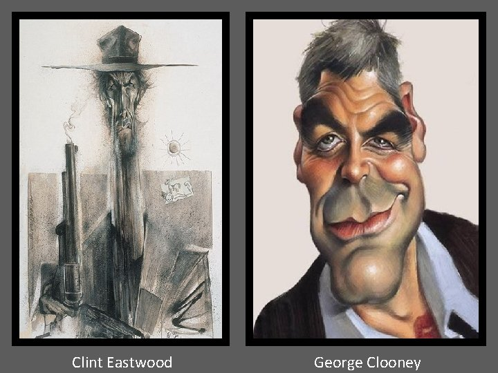 Clint Eastwood George Clooney