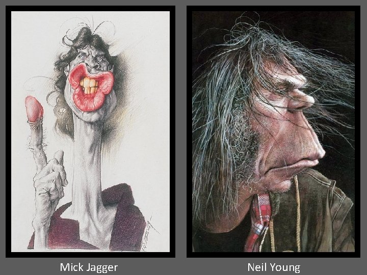 Mick Jagger Neil Young