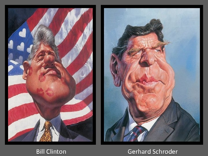 Bill Clinton Gerhard Schroder
