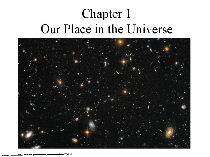 Chapter 1 Our Place in the Universe
