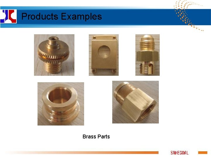 Products Examples Brass Parts