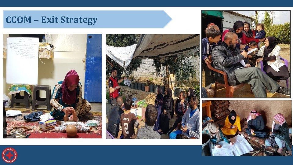 CCOM – Exit Strategy