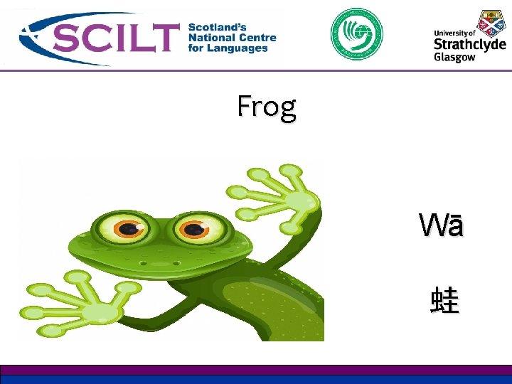Frog Wā 蛙