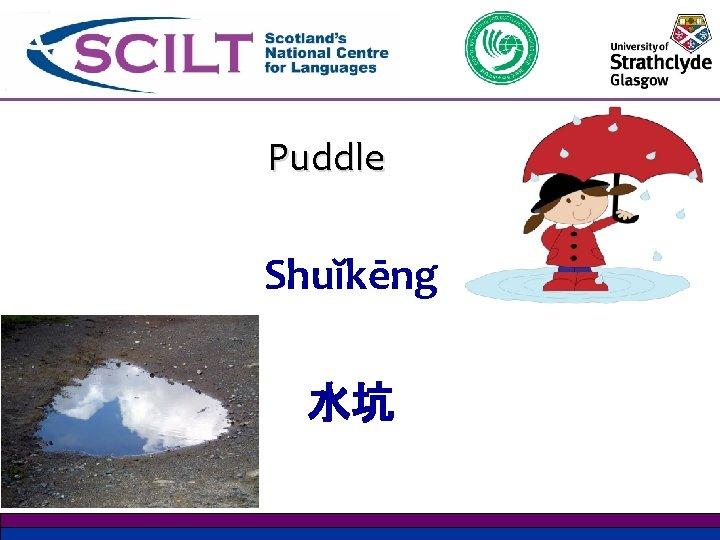 Puddle Shuĭkēng 水坑