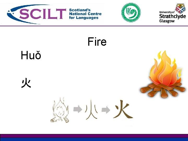 Fire Huǒ 火